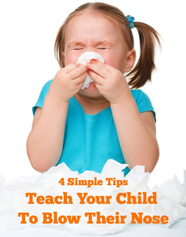 With cold and flu season coming up fast, it might be time to start thinking about teaching your kiddo the art of nose blowing. We can't protect you from getting sneezed on but we do have you covered when it comes to nose blowing with these four simple tips!