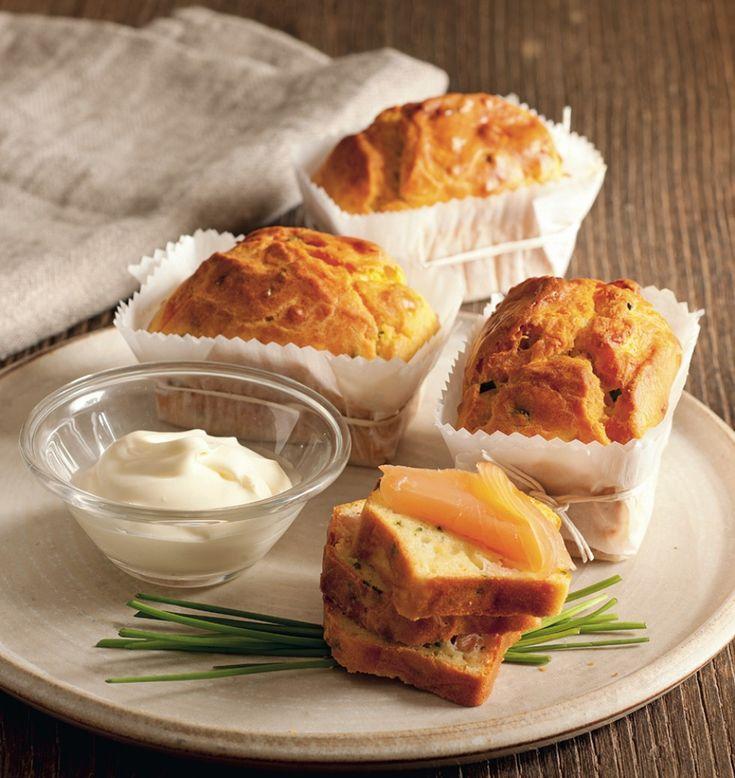 Plumcake con ricotta e salmone affumicato ricetta