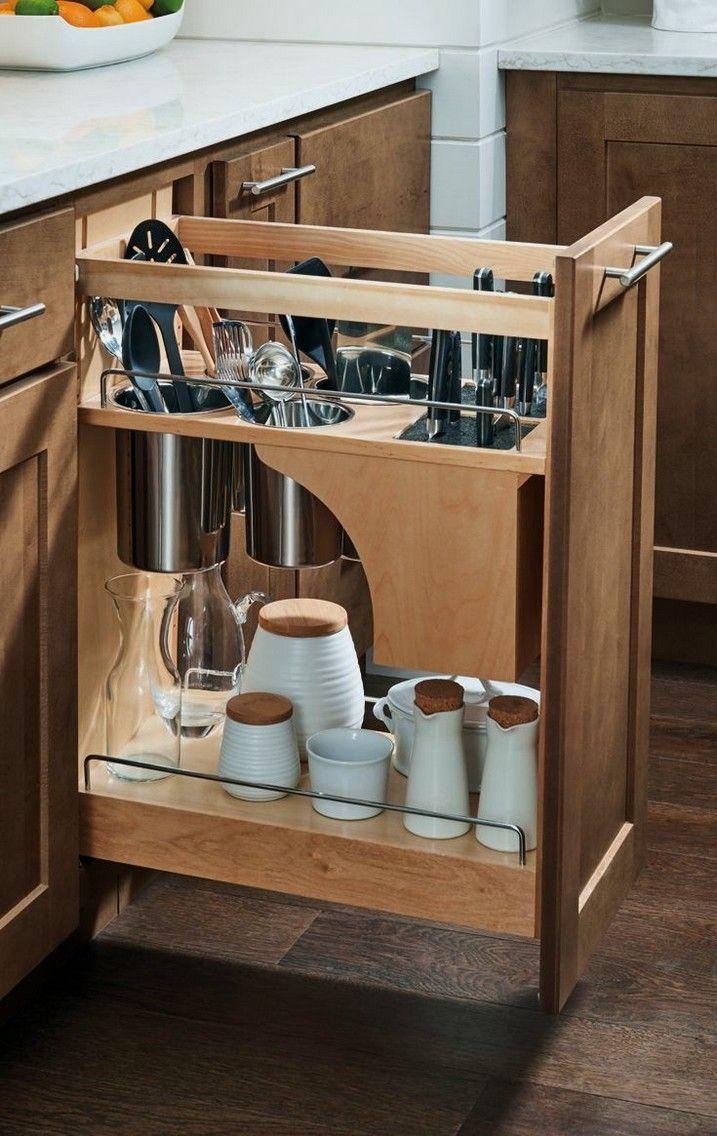 22 Crazy Creative Kitchen Storage Ideas 1 With Images Diy