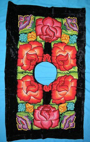 tehuana_huipil   pronounced we-peel...  how to make a top.