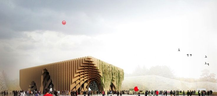 French Pavilion at Milan Expo by XTU Architects