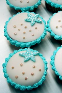 Ocean Cupcakes   I would like these alot Tammy........ just sayin
