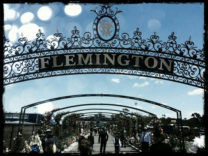 Flemington Racecourse in Flemington, VIC