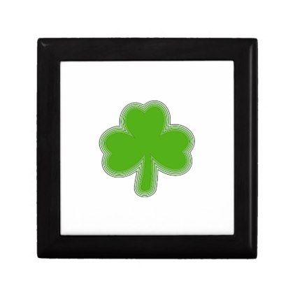 Saint Patrick'S Shamrock Drawing Keepsake Box - saint patricks day st patricks holiday ireland irsih special party
