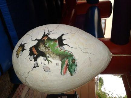 Dino Egg Pinata Google Search Dino Ideas Pinterest