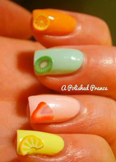 A Polished Prance: Aussie Nails Monday: Food