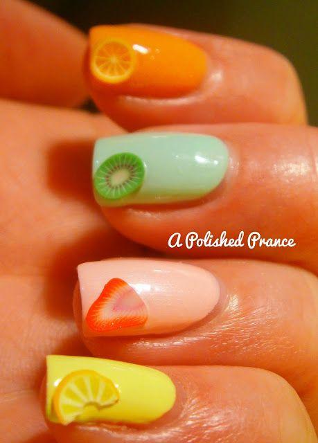 #nailart #nails#fluits