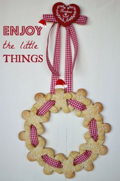 """★Foto """"pinnata"""" dalla nostra lettrice Chiarapassion Ghirlanda di biscotti by Chiarapassion"""