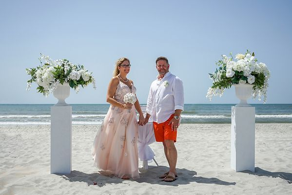 Myrtle Beach Wedding Myrtle Beach Wedding Packages Beach Wedding In Myrtle Beach Wedding In 2020 Myrtle Beach Wedding Wedding Beach Ceremony Beach Wedding Packages
