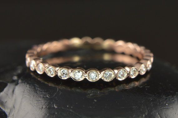Hey, I found this really awesome Etsy listing at http://www.etsy.com/listing/169669440/petite-cadence-diamond-wedding-band-38