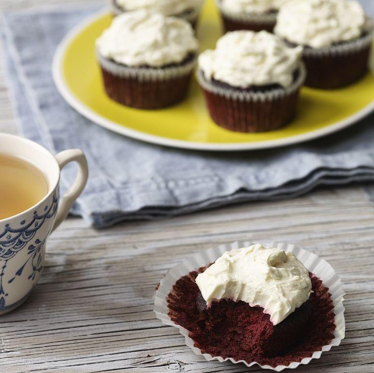 Beetroot Red Velvet Cupcakes