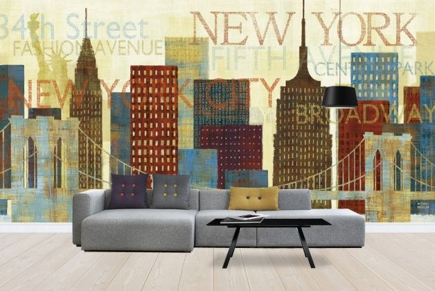 41 best images about broadway themed room on pinterest for Broadway wall mural