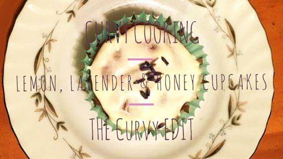 Curvy Cooking: Lemon, Lavender & Honey Cupcakes - Perfect recipe for Easter! / ¡La receta perfecta para el día de Pascuas!