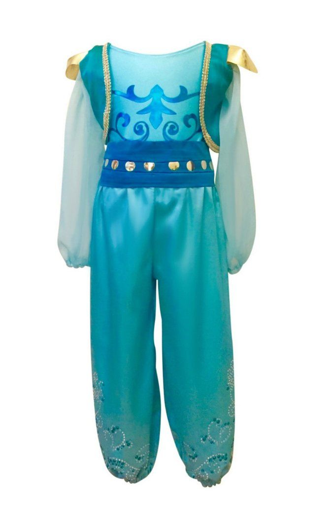 Girl's shimmer and shine inspired costume. Our costumes are handmade and made-to-order in Brooklyn, NY #shimmerandshinecostume