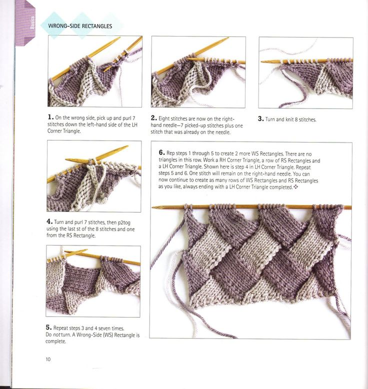 Knitting Unlimited: What is Entrelac knitting? How to Entrelac Knitting