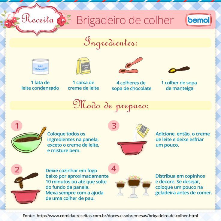 BRIGADEIRO DE COLHER | Blog Bemol