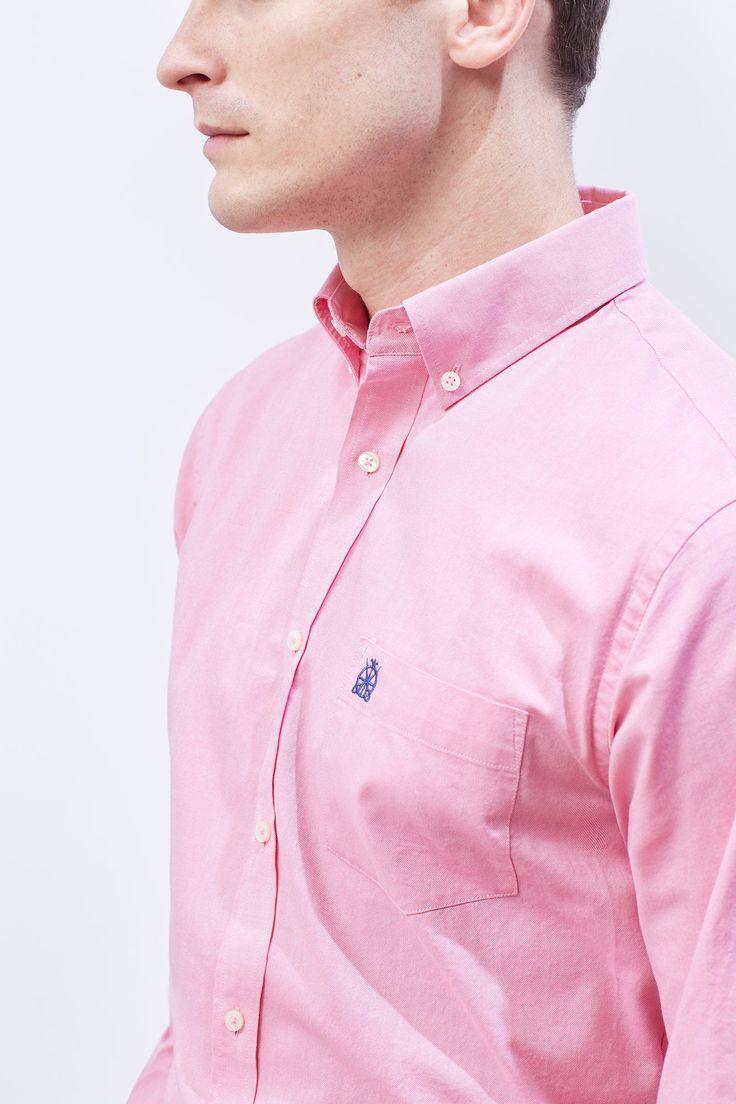 Think Pink: Rosas sem espinhos! #Think #Pink: #Rosas #sem #espinhos | #Camisa #oxford #lisa #cortefiel