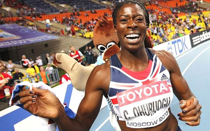 If someone's going to beat me to something I want, or have worked for, I'm going to make them work for it!   World Athletics Championships 2013: Christine Ohuruogu wins 400m gold in Moscow following photo-finish - Telegraph