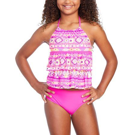 ccc62c47ed Girls' Southwest Cutie Fashion Tankini   Products   Tankini, Fashion ...
