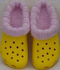Croc socks!! #knitting