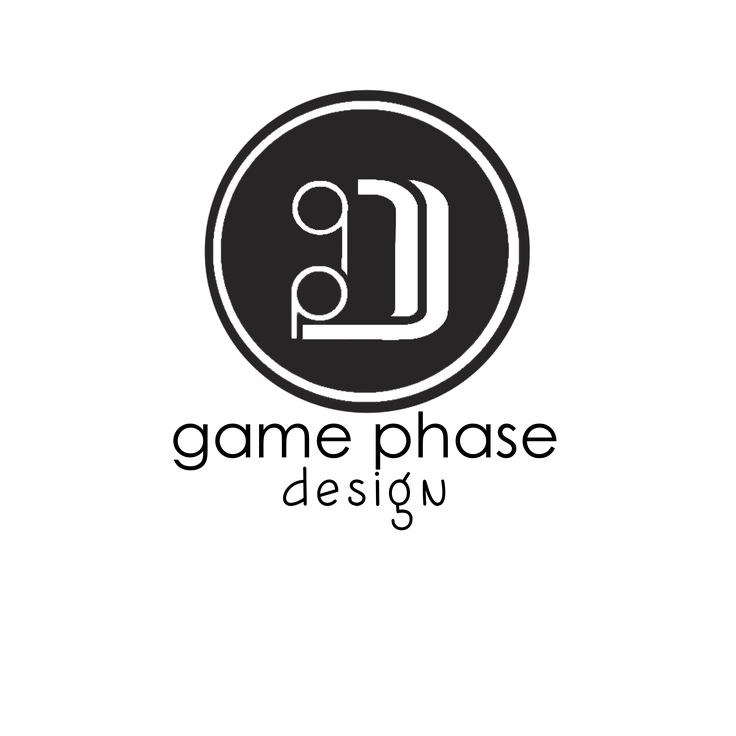 LOGO - GamePhaseDesign (Game changing logo designs) .This is a symbolic representation of a young design company based in Cape Town, South Africa. when viewed from the right, it shows a smiling and happy face. A desired look on our clients upon completion of a project. /so come on, let us help you be the game changer in your field of specialty. let us help you reach a higher phase of productivity.