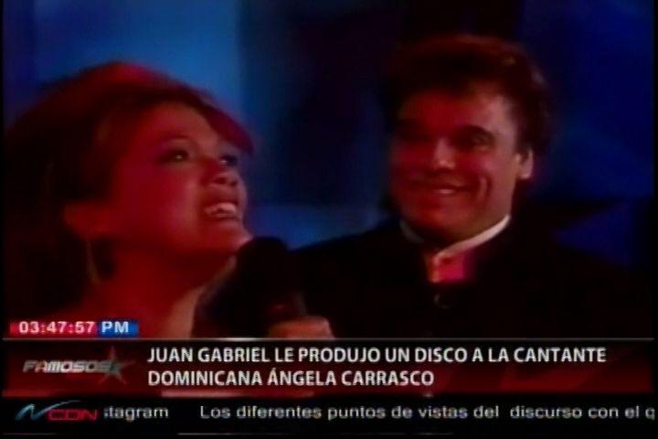 Juan Gabriel Le Produjo Un Álbum A La Cantante Dominicana Angela Carrasco