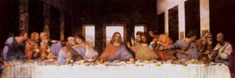 Das letzte Abendmahl, ca. 1498 Poster von Leonardo da Vinci bei AllPosters.de