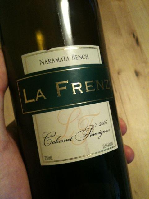La Frenz Wines (Naramata Bench, Penticton, BC)