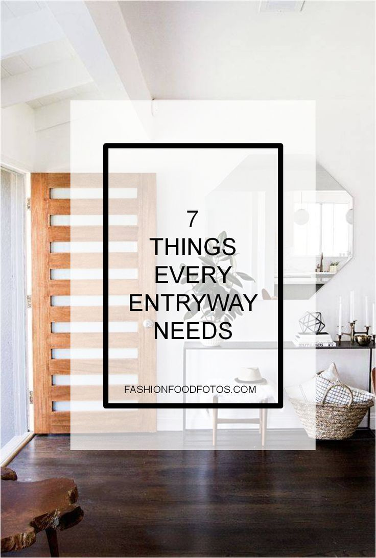 7 Things Every Entryway Needs Feng Shui Entryway Foyer