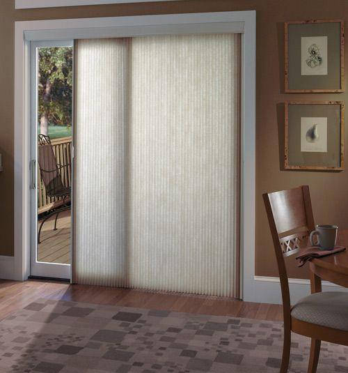 vertical cellular shades a great modern looking energy efficient window covering solution for patio doors