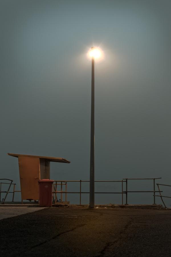 On a misty day in Cape Town by Bernard de Clerk, via Behance