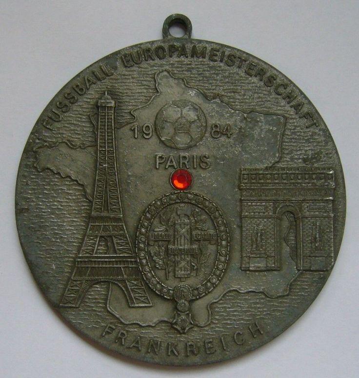 UEFA European Football Championship 1984 Medal / France UEFA Euro 1984  | eBay