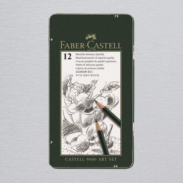 Faber-Castell 9000 Pencil Art Set of 12
