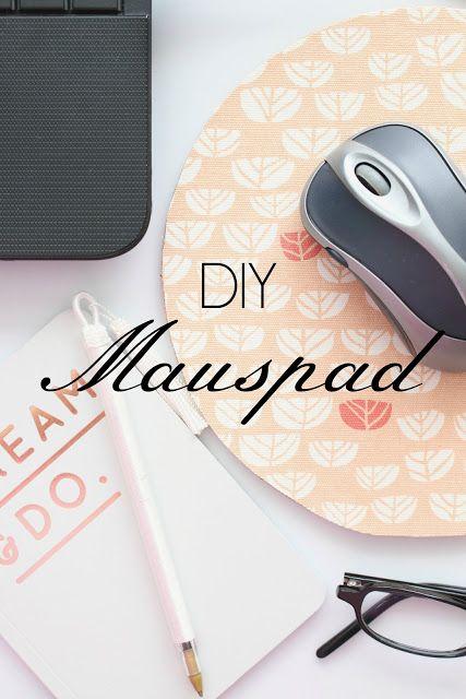 DIY | Mauspad aus Stoffresten und Kork