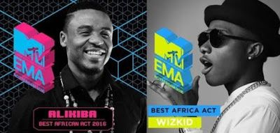 MTV EMA Clears The Air On The Wizkid And Ali kiba Award Drama     In the last 24hours the social media had been buzzing with different report concerning Wizkid victory at the just concluded MTV EMA Award as news of his award been stripped away from him and giving to Ali Kiba was going aroundWe now have prove that there was a bit of mix-up as regarding the news as MTV EMA as now come out to clear the air on the issue. MTV EMA explained that both Wizkid and Ali Kiba are winners of different…