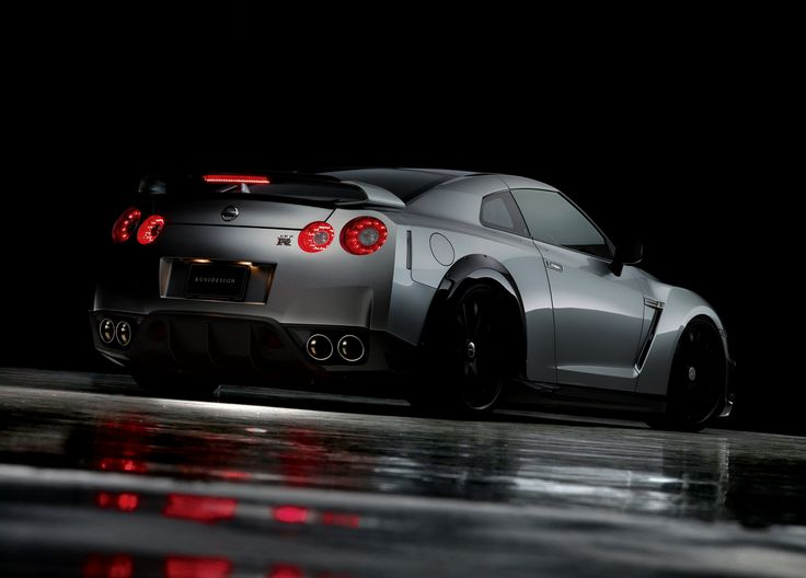 Automotivated: Wald Nissan GT R Rear