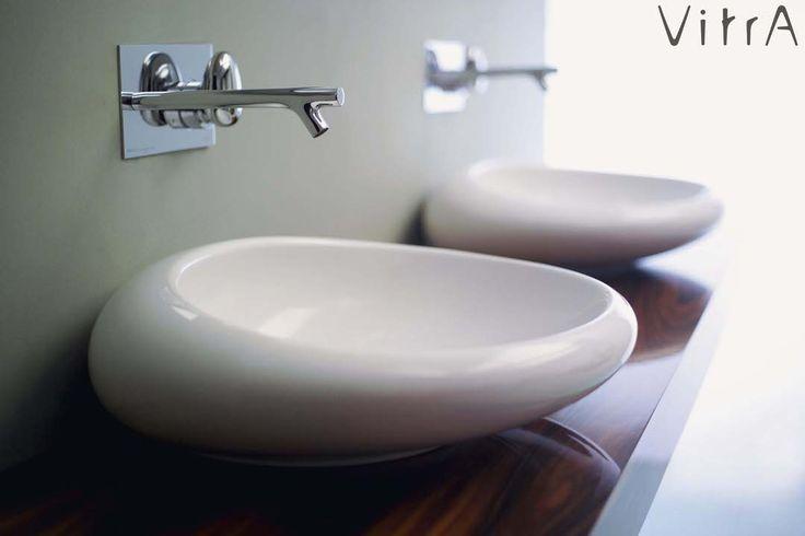 С помощью такого умывальника можно легко добавить интересные линии в дизайн ванной в стиле минимализм или органично вписать его в ванную в этно-стиле.  Как вам? Если нравится - Лайк!  Раковины-чаши Vitra Istanbulhttps://goo.gl/ovnYMZ…