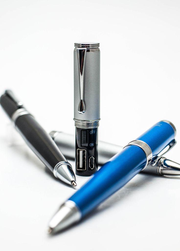 Monteverde Power Bank Ballpoint Pen, Silver - awesome gift!
