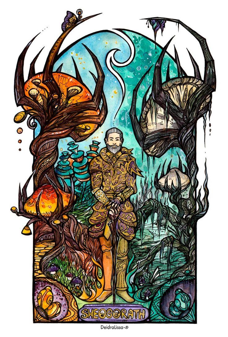 Sheogorath~ by Deidra-Lissa.deviantart.com on @DeviantArt