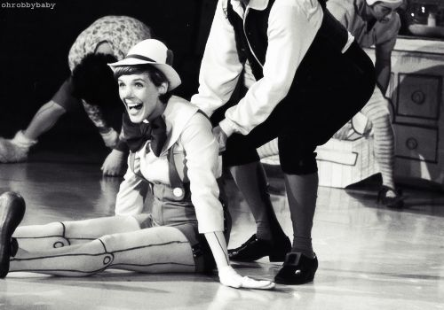 DailyLifeOfaDisneyFreak-> Julie Andrews as Pinocchio in 1972.... WHERE HAS THIS BEEN ALL OF MY LIFE??