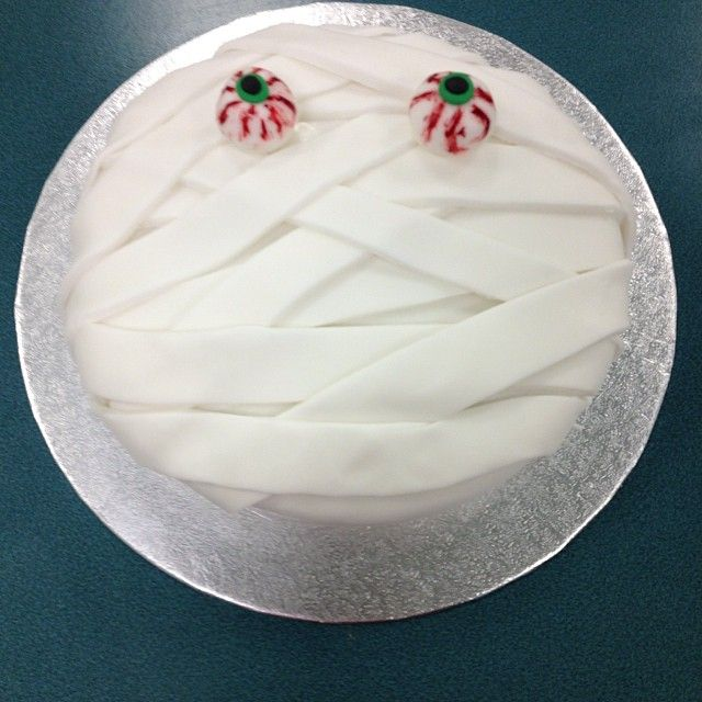 Lesson 4 - Mummy Cake #halloween #glutenfree #dairyfree #lowfodmap #Padgram