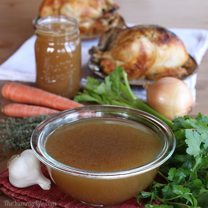... chicken broth chicken bones health booster crockpot chicken broth