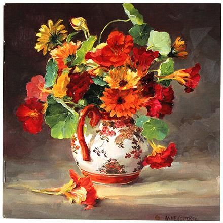 Notebook - Marigolds and Nasturtiums | Mill House Fine Art – Publishers of Anne…