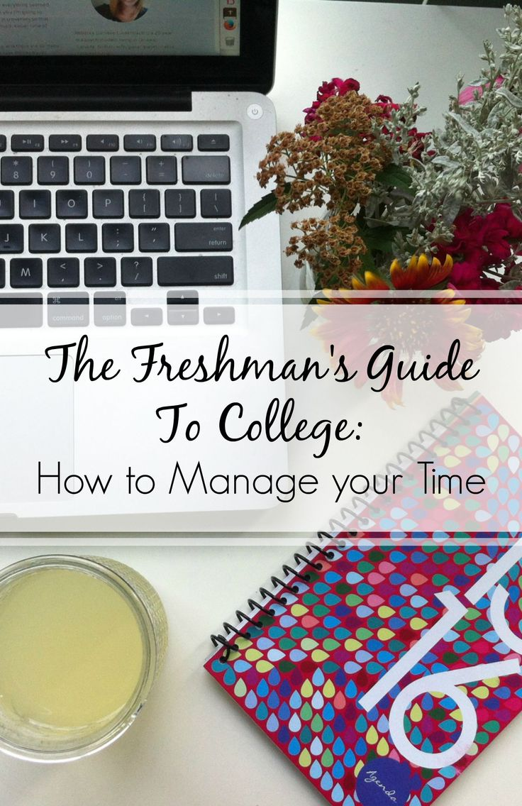 The Freshman's Guide To College Day 9: Tips For Time Management