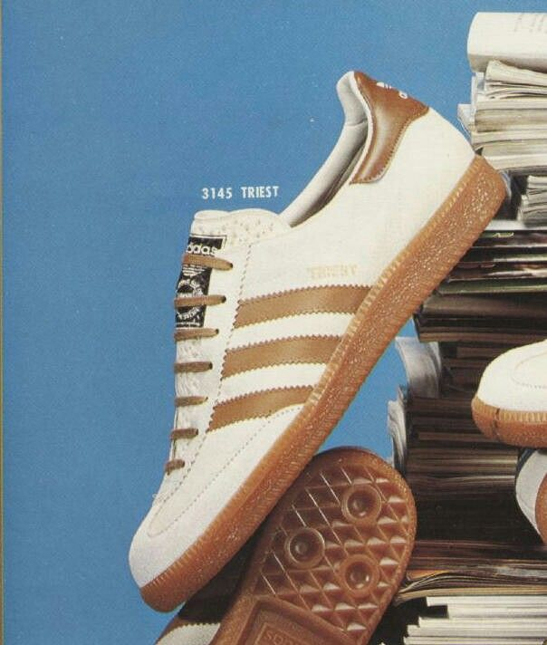 Rare birds! adidas Trieste, part of the City Series collection going for over £1K now for BNIB