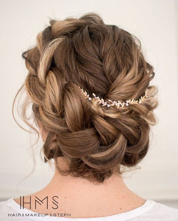 braided wedding updo ~  we ❤ this! moncheribridals.com