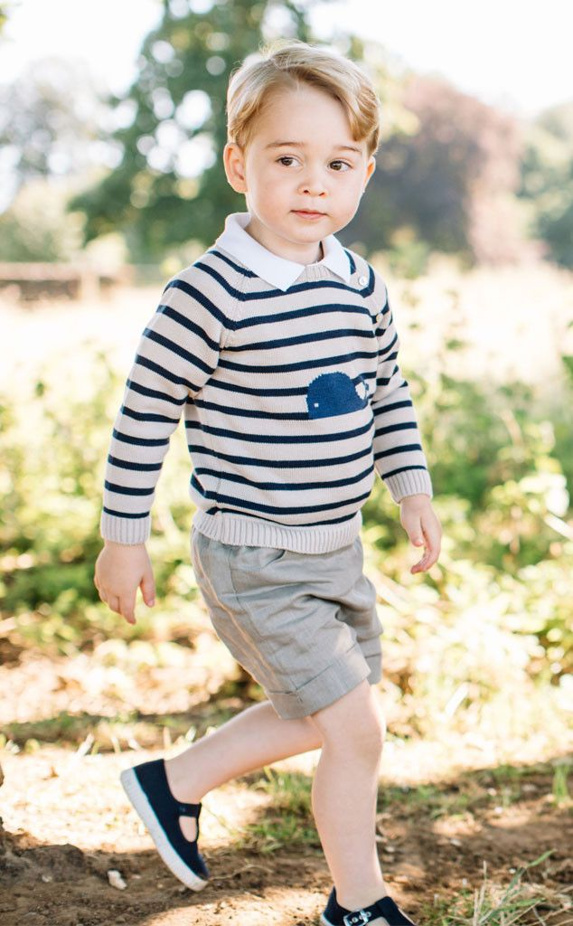 New Photos Released for Prince George's 3rd Birthday