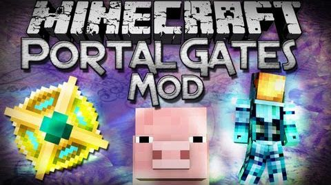 Portal Gates 2 Mod Teleport your with a single click to many portal gates placed all over the worlds. Portal Gates 2 Mod 1.8 for Minecraft Mod download