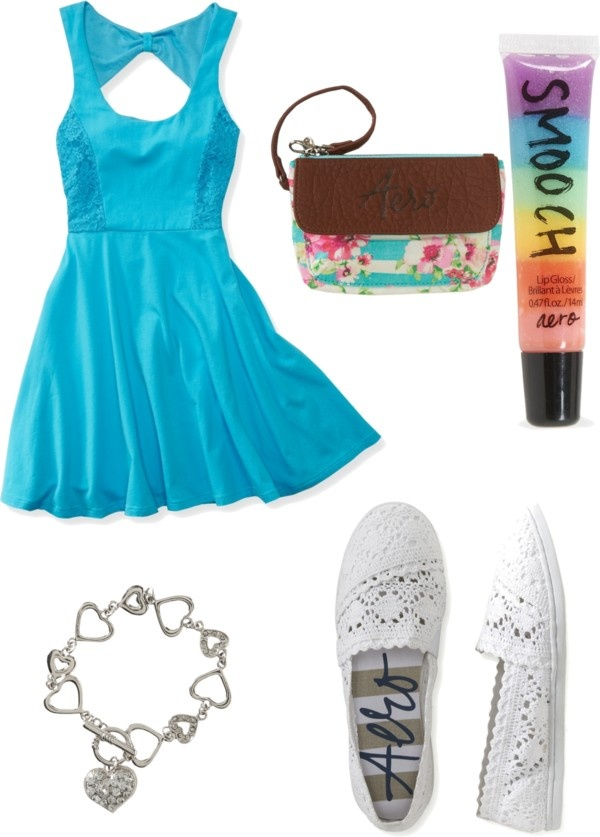 """Aeropostale Outfit"" by mkatelyn ❤ liked on Polyvore"