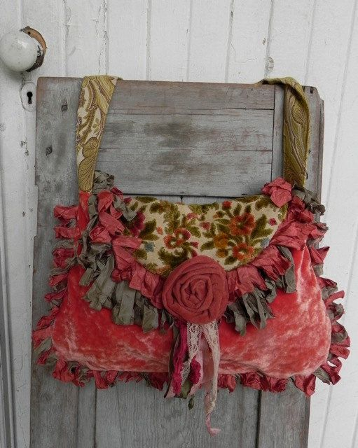 Pradera alta costura alfombra bolso - Vagabond estilo gitano - venta 40% de descuento